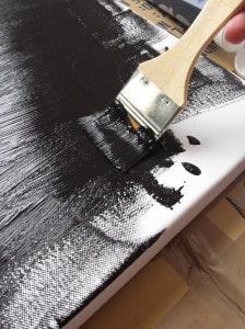 motif galaxy peinture