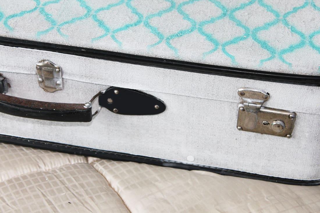 rendu de la valise - DIY : Redonner vie à une vieille valise