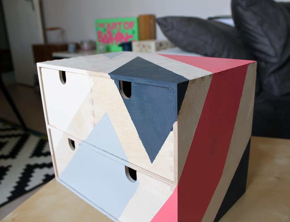 final du meuble avec peinture ripolin - J'ai testé pour vous les nouvelles peintures Ripolin