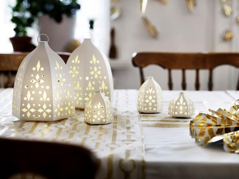 nouvelle collection noel ikea bougeoirs