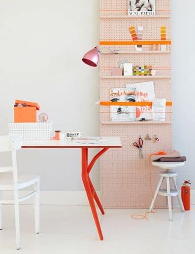 une etagere originale pour le bureau - 10 astuces pour organiser votre bureau