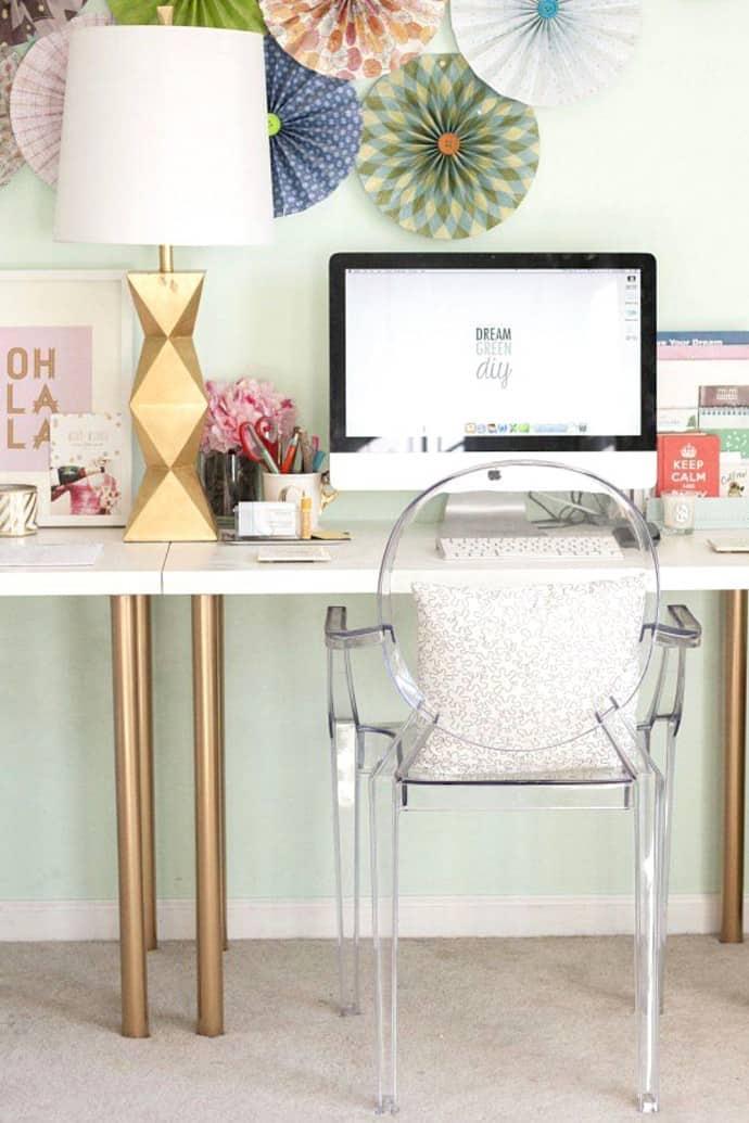 une lampe sympa pour le bureau