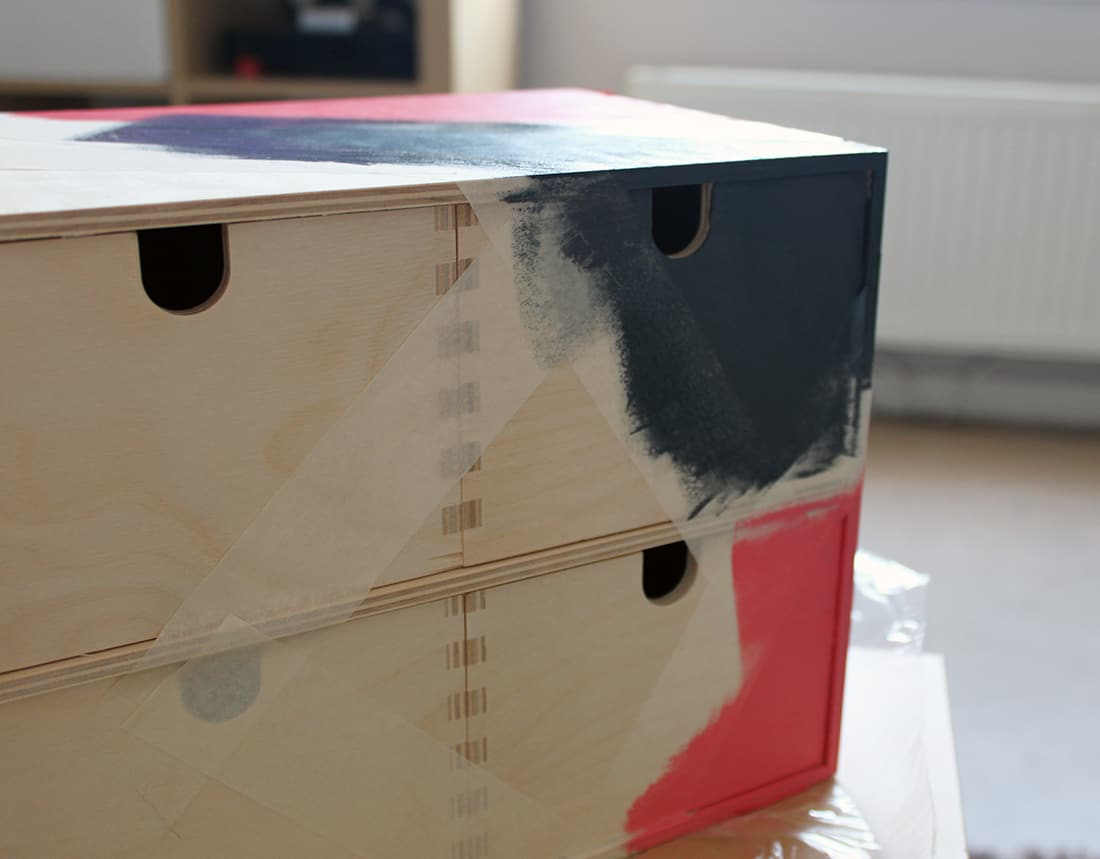 vue meuble pendant peinture - J'ai testé pour vous les nouvelles peintures Ripolin