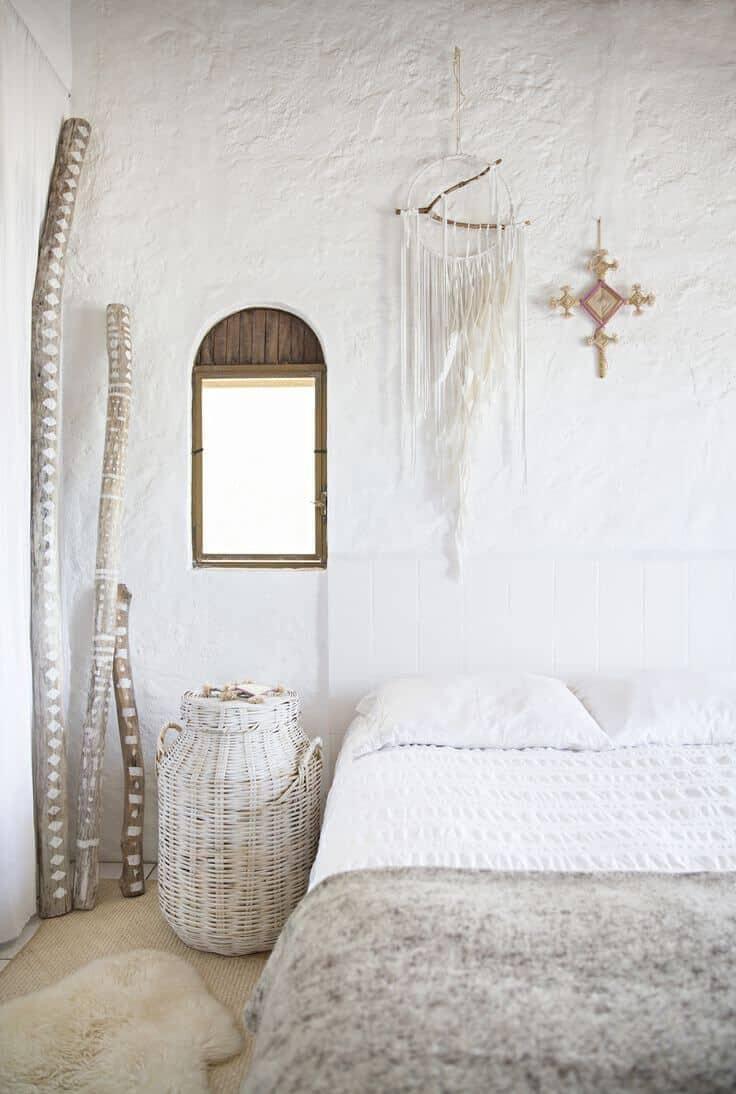une chambre cocooning et boheme