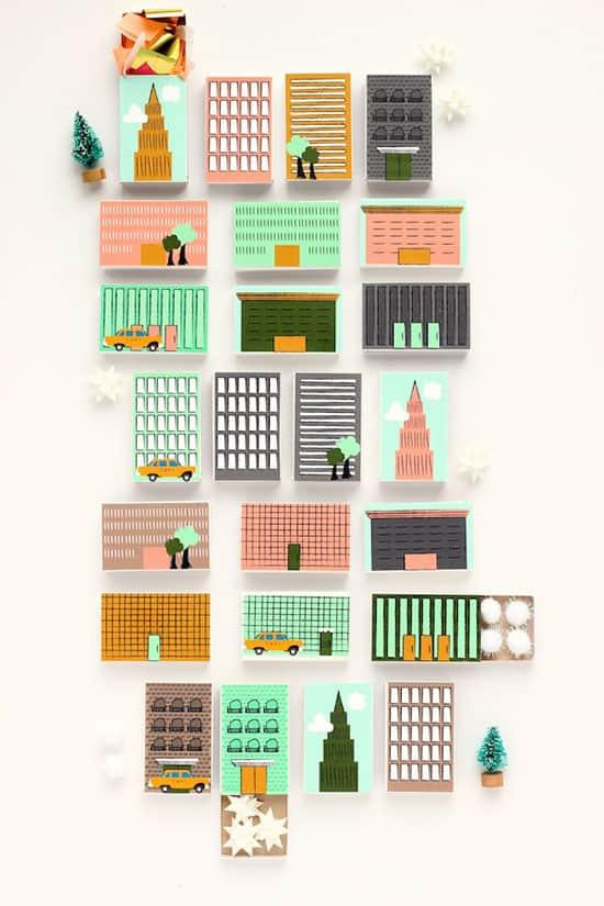 calendriers de l'Avent new-york