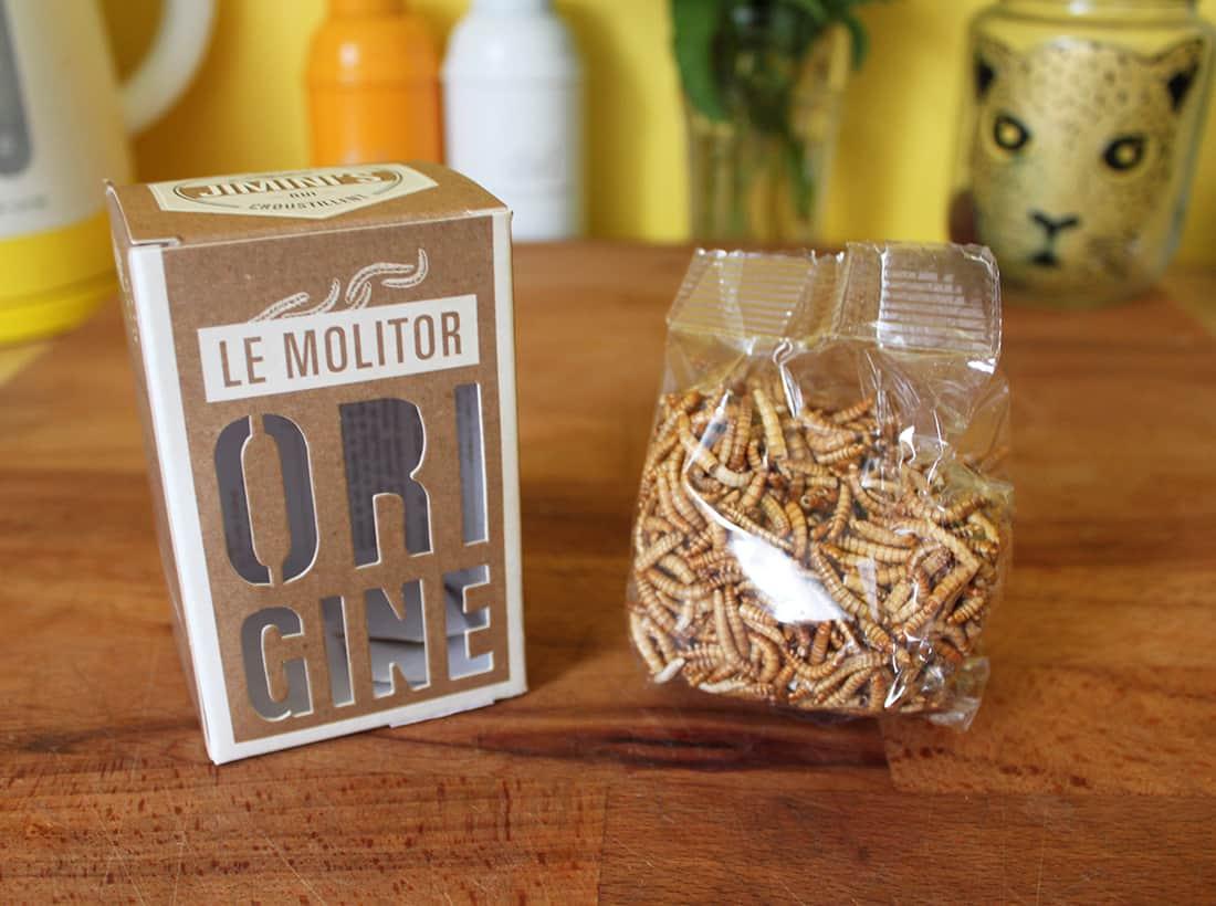 la boite des insectes jiminis pour la recette