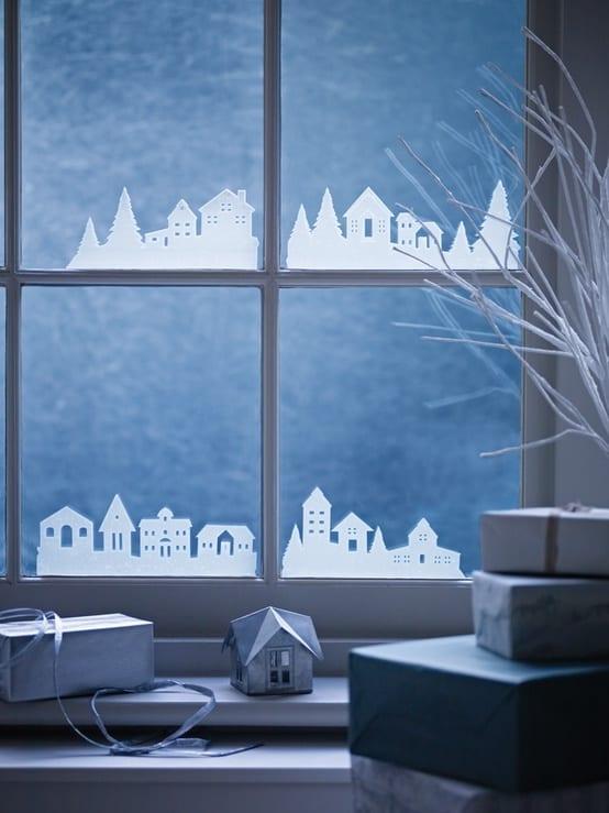 para la ventana poblado - Noël : 11 DIY faciles pour une déco réussie