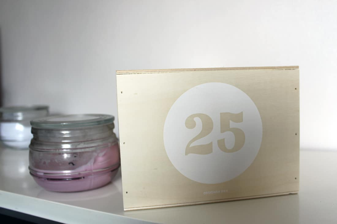 designer box numero 25