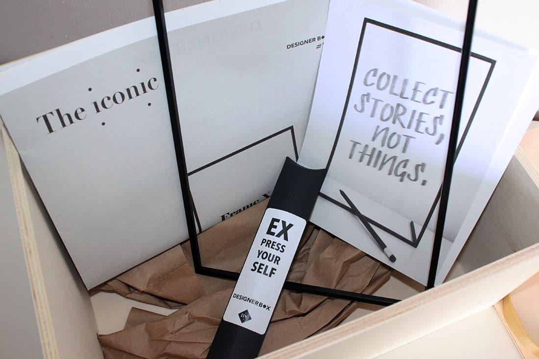 designer box ouverte - J'ai testé pour vous la Designer box