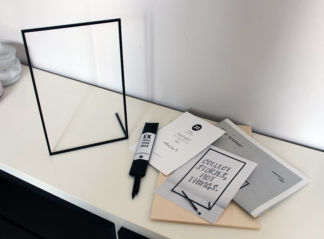 frame x et les documents de la designer box