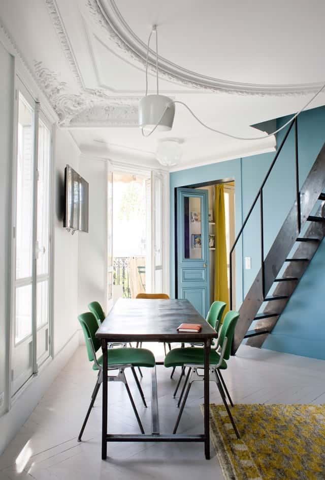 une salle a manger coloree - Comment bien réussir sa salle à manger