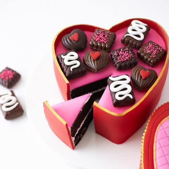 gateau saint valentin - 14 DIY pour une Saint-Valentin réussie