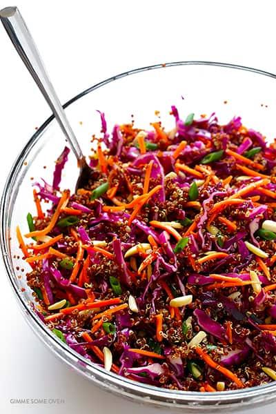 recette healthy quinoa asiatique