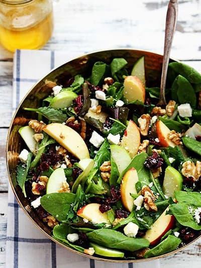 recette healthy salade d'automne