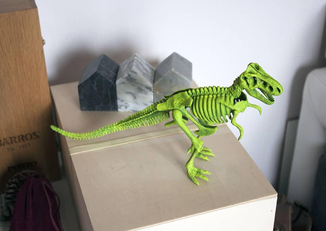 dinosaure dans la deco