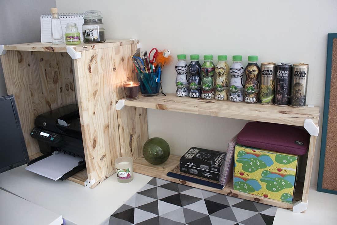 meuble cubix comme rangement bureau