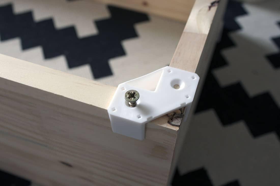 vissage des planches cubix