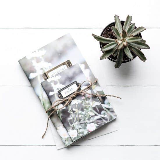 carnet de note diy cadeau romantique - Saint Valentin : 11 do it yourself déco pour un cadeau romantique