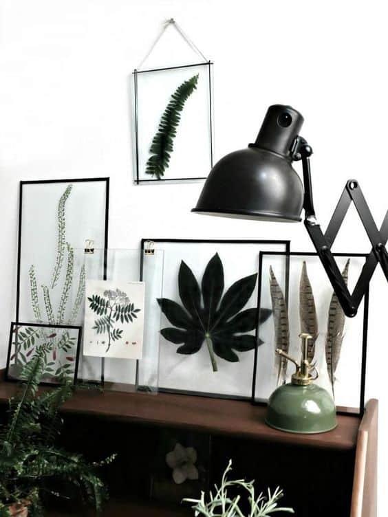 des cadres naturels contenant des fleurs  - Les fleurs s'invitent dans la décoration autour d'une inspiration