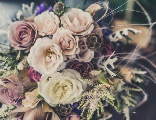 bouquet de fleurs deco