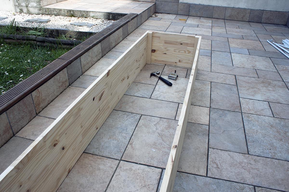 carre potager do it yourself - Apprendre à fabriquer un carré potager autour d'un DIY