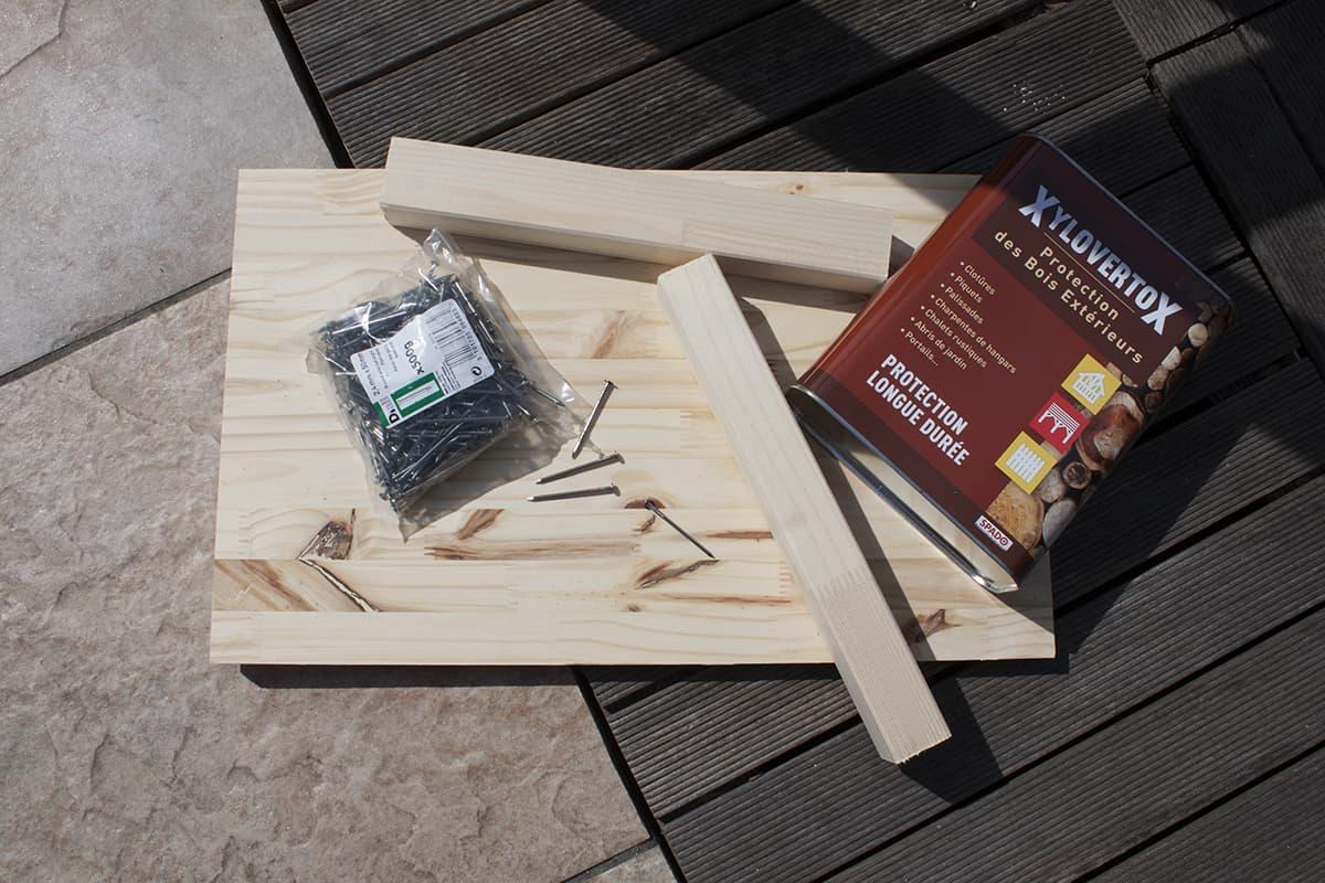 materiel necessaire pour diy carre potager - Apprendre à fabriquer un carré potager autour d'un DIY