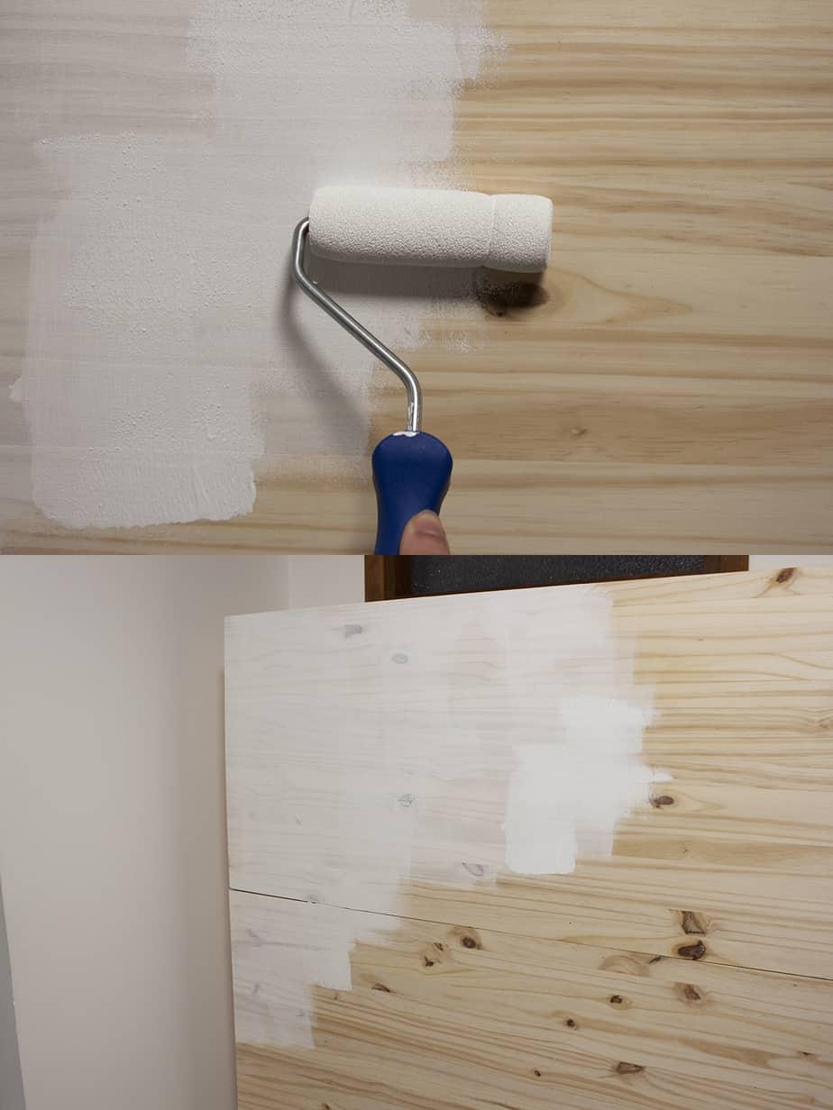 peinture lit escamotable etape