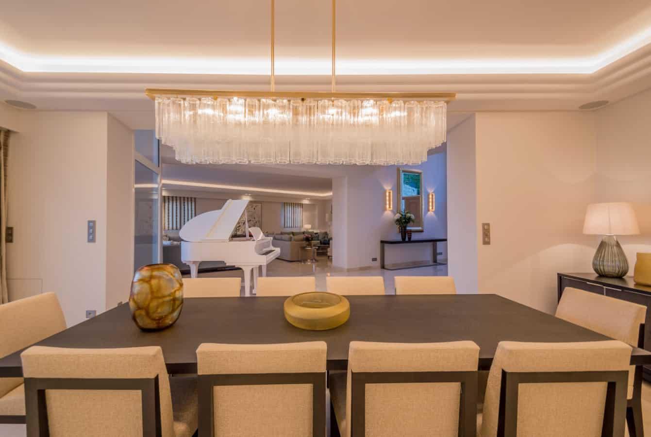 salle a manger villa maha luxoria architecte