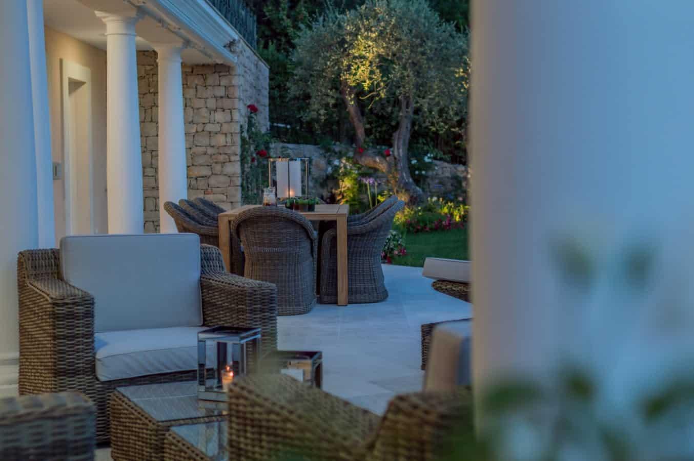 terrasse villa maha nice luxoria architecte