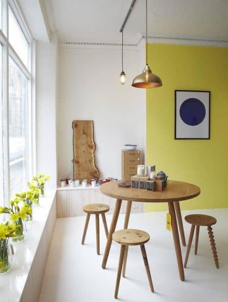 salle a manger jaune couleurs phares de lete