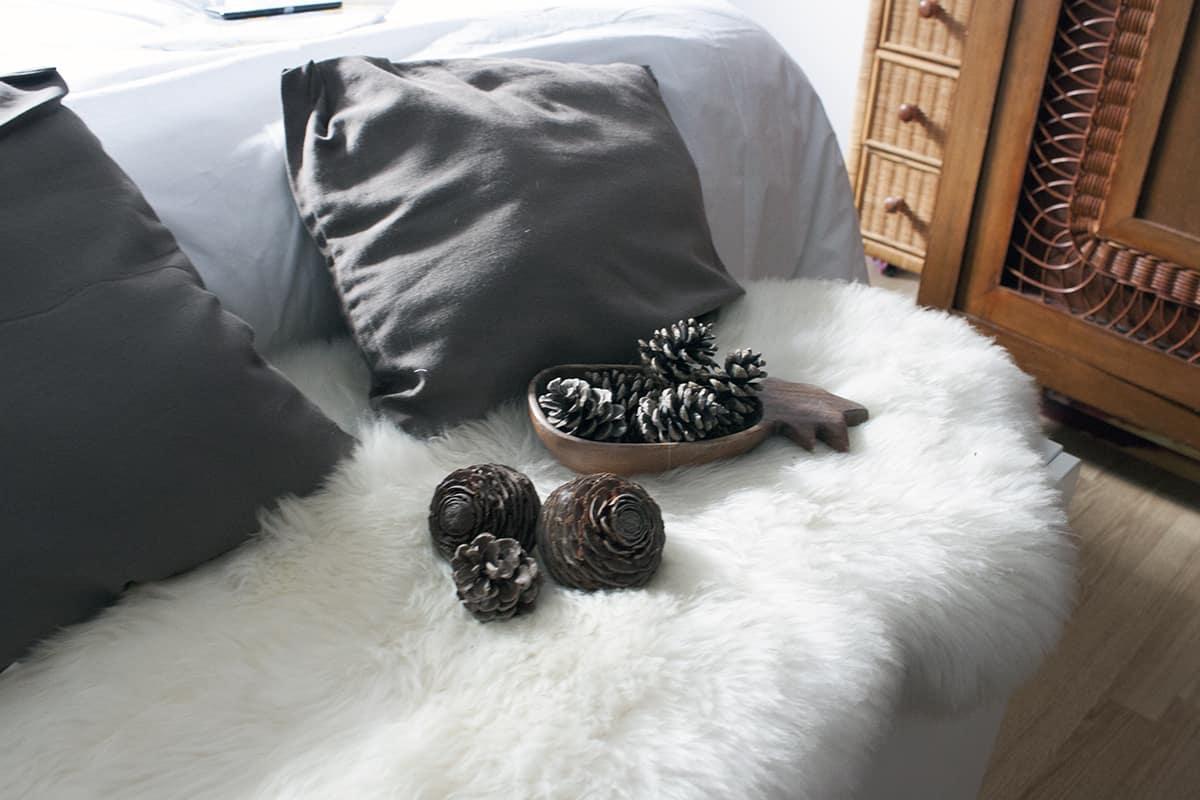 pomme de pain et fourrure - J'ai testé pour vous le linge de lit blanc avec La Compagnie du Blanc