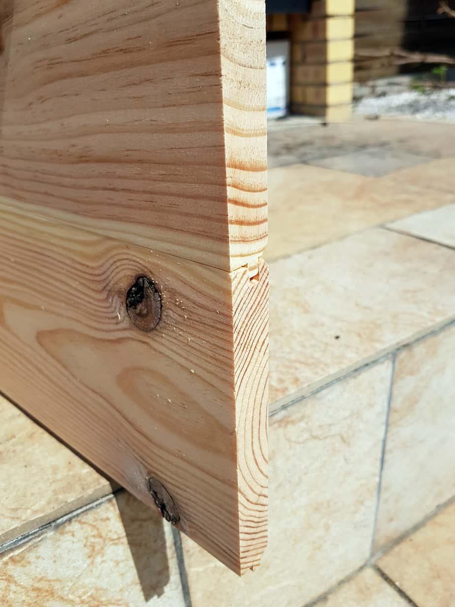 table basse industrielle construction du plateau - DIY déco : comment fabriquer une table basse industrielle