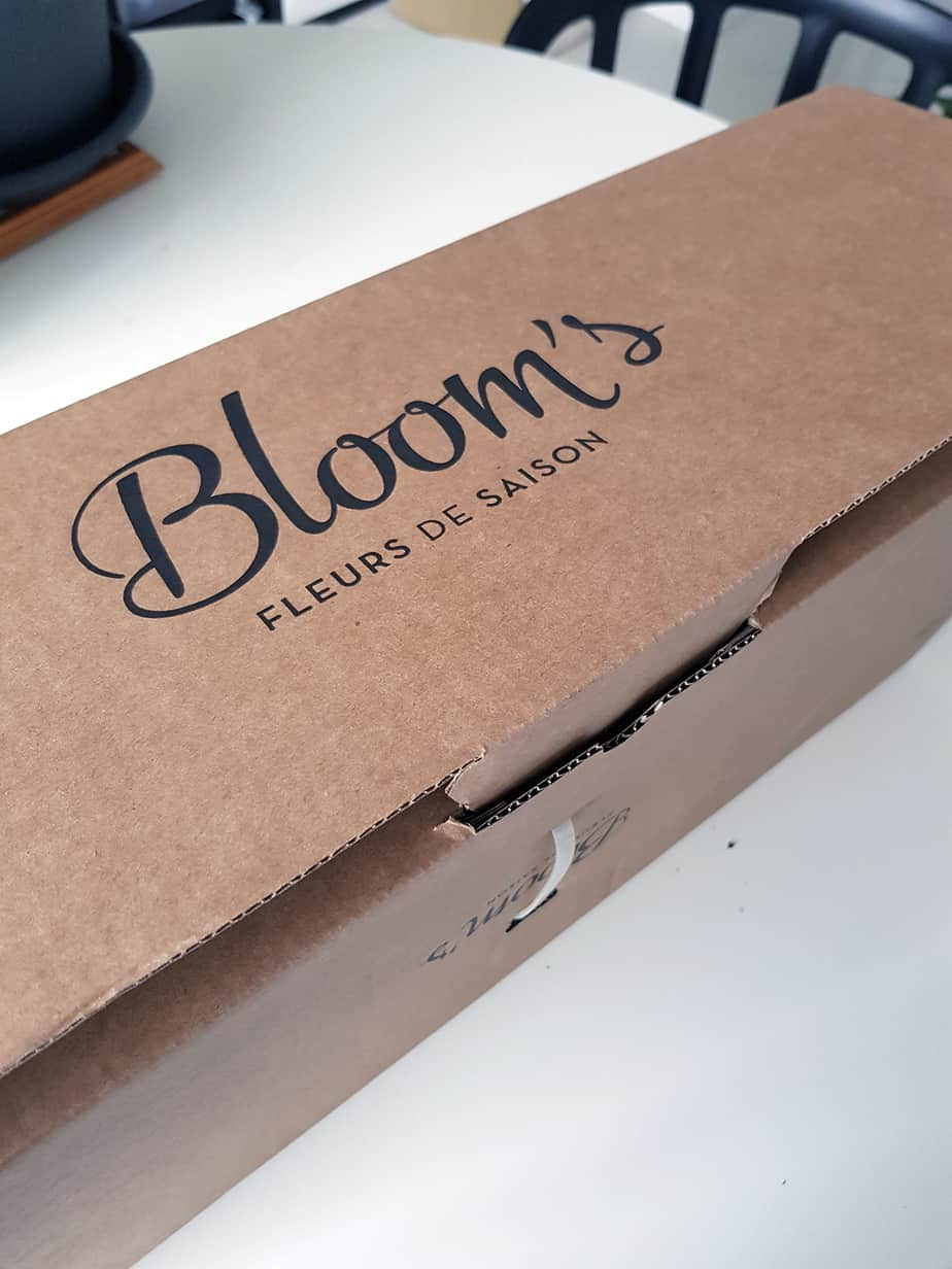 box de fleurs bloom's