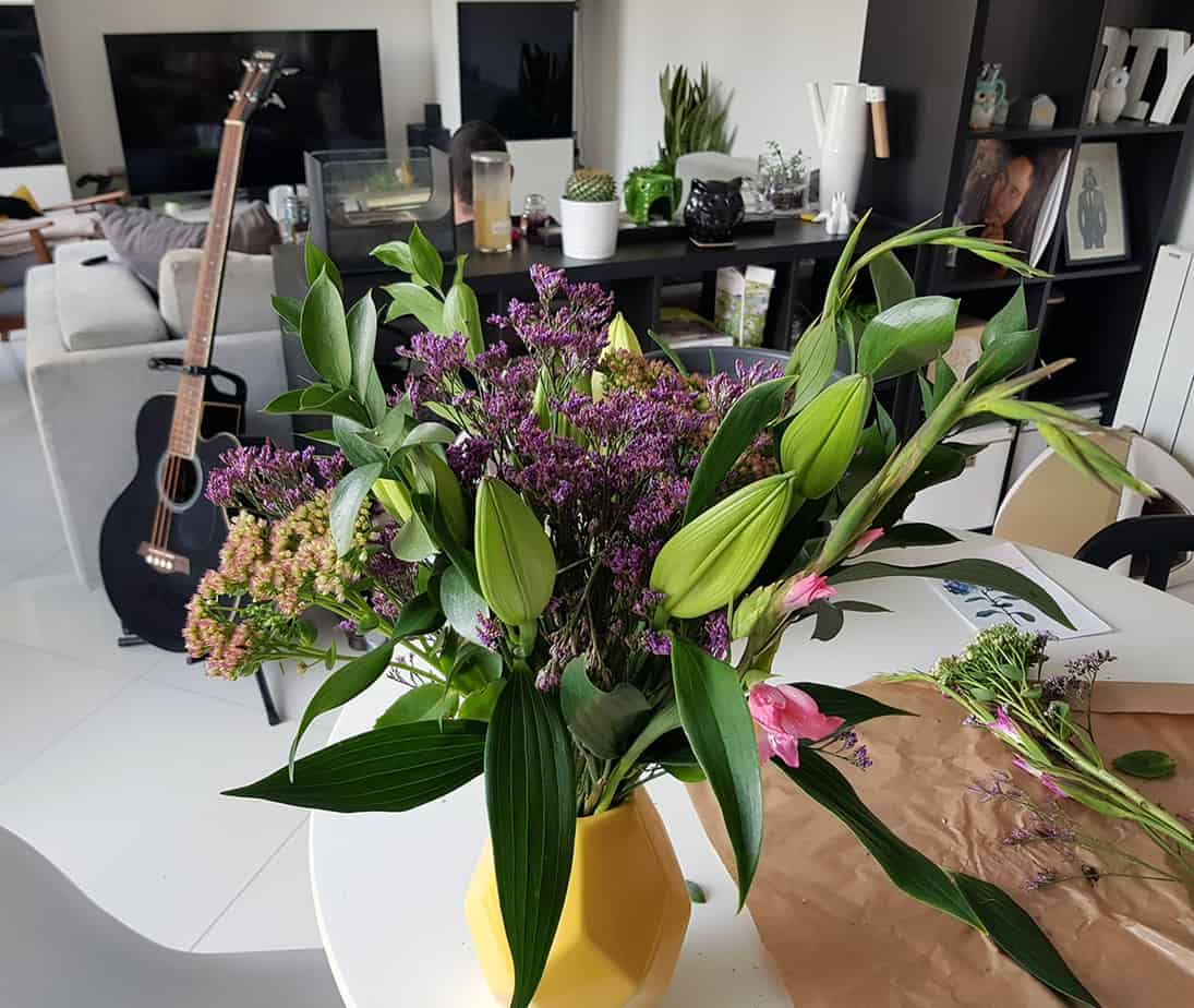 comment composer un beau bouquet