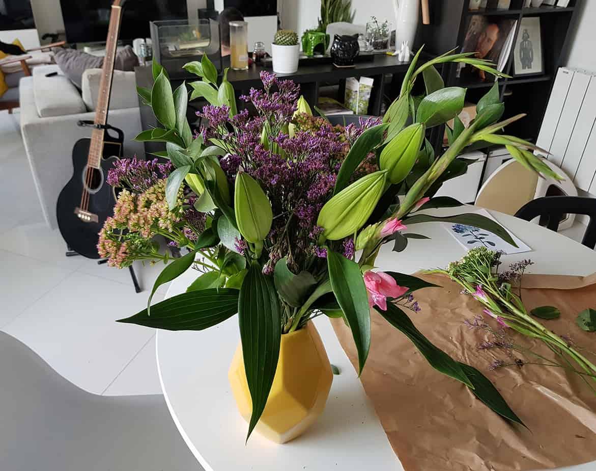 composition florale bloom s