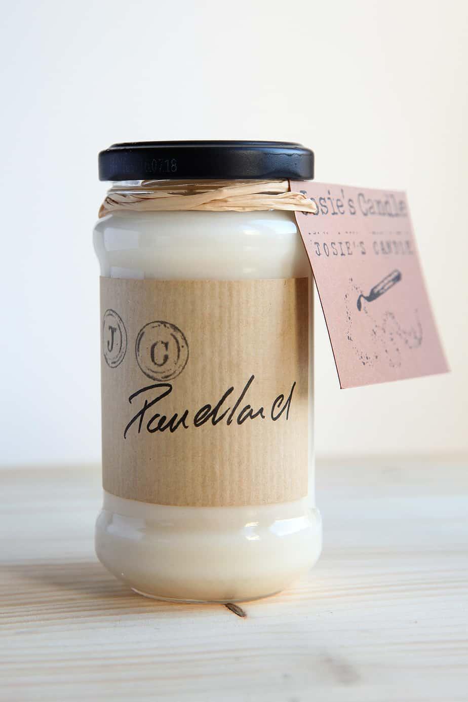 bougie poudlard josiescandle - Josie's Candle, des bougies vegan et faites à la main