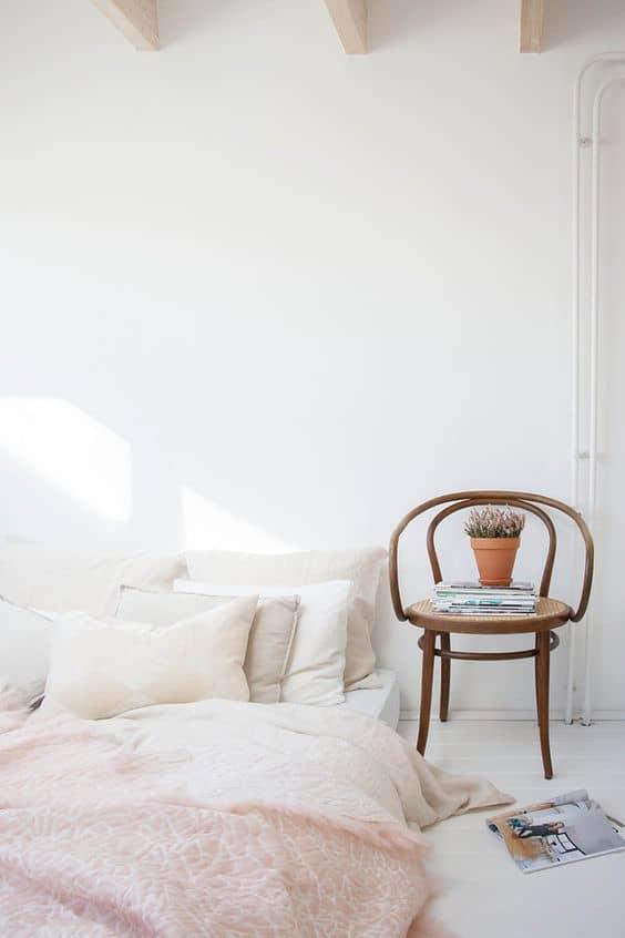 lagom chambre pastel - Le lagom, une nouvelle tendance déco venue de Suède