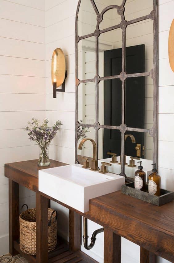 style vintage salle de bain