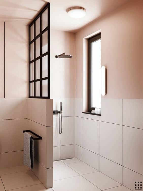 verriere salle de bain douche a l italienne