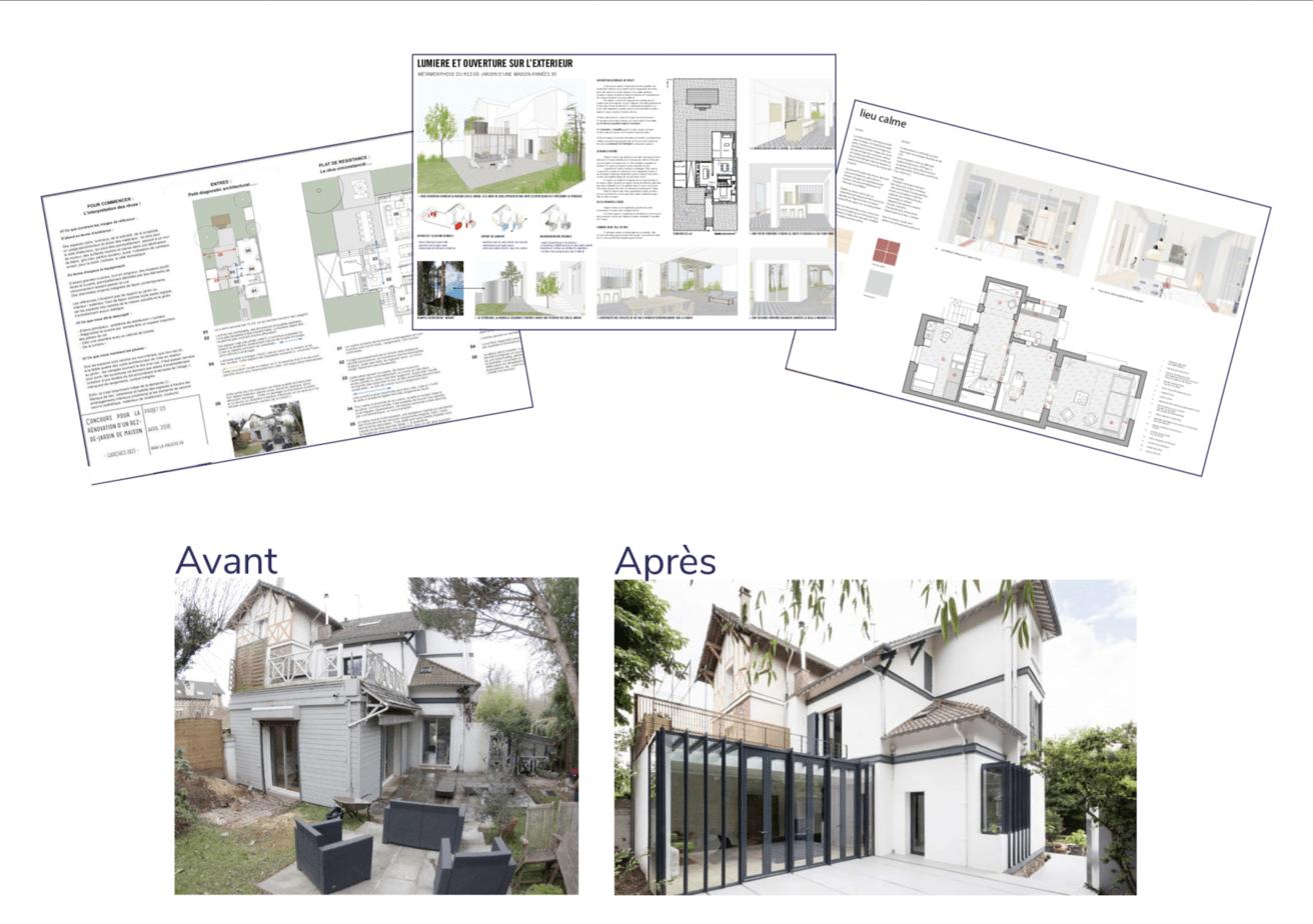projet architecte maison