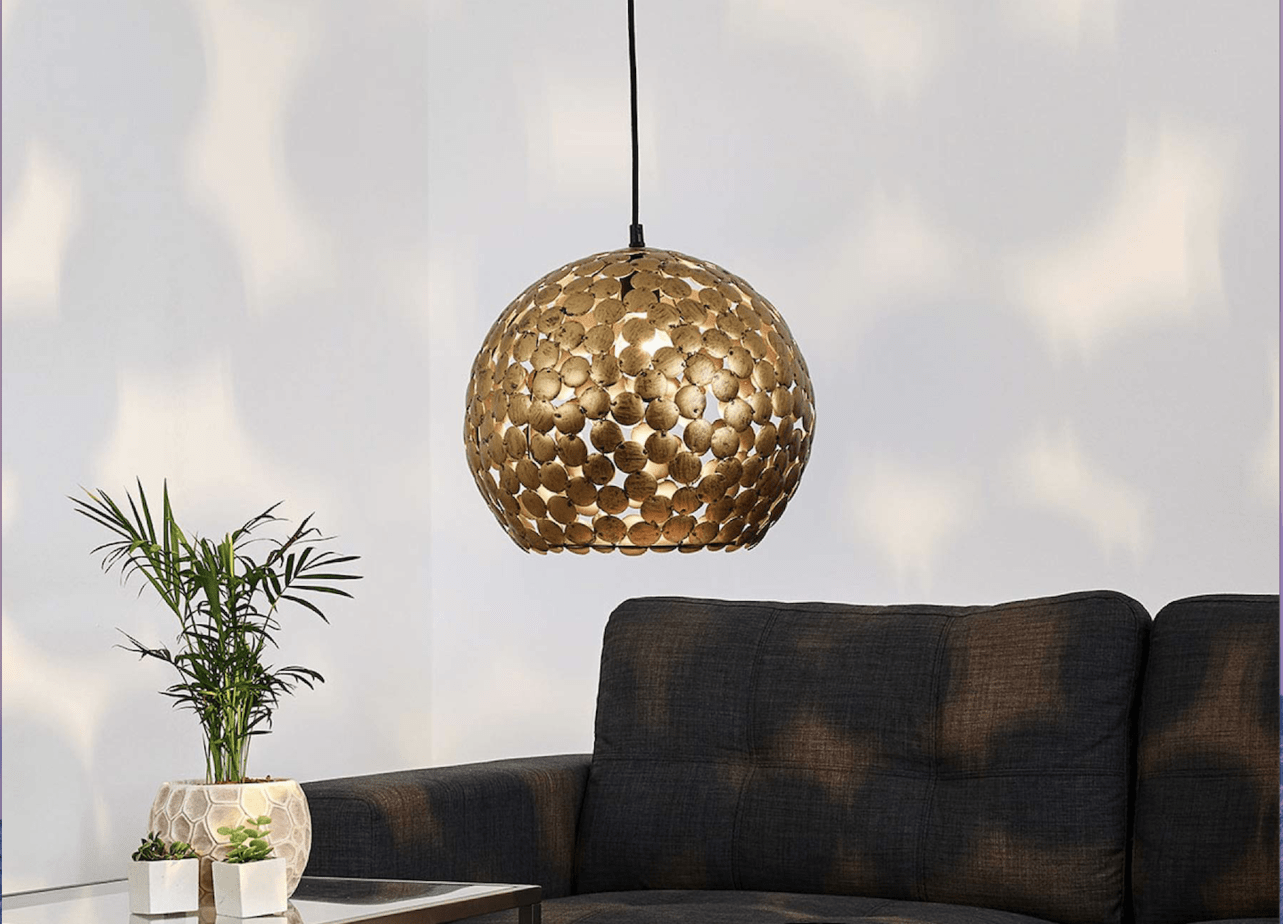 suspension laiton deco zen luminaire