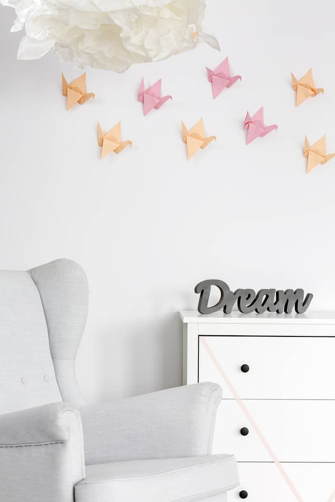 decor origami 3d mur diy