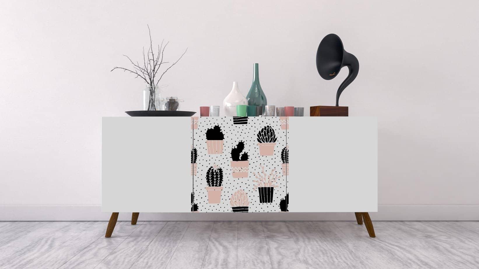 stickers meuble pixer - Pixers, un site pour personnaliser son intérieur