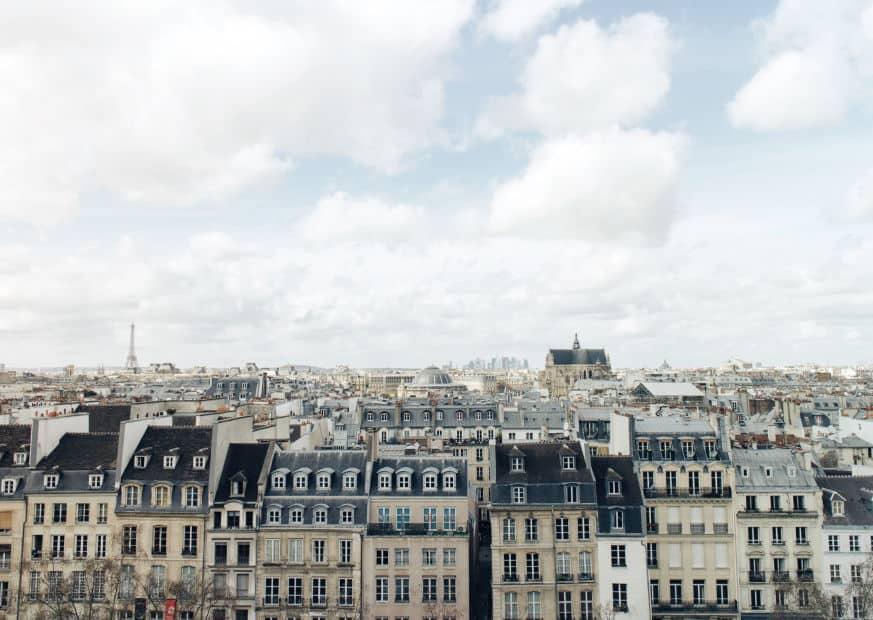 vue parisienne appartements