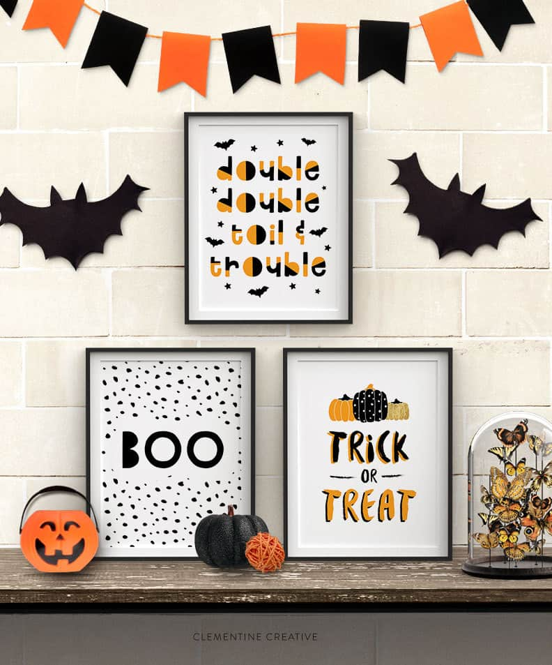 cadre deco halloween