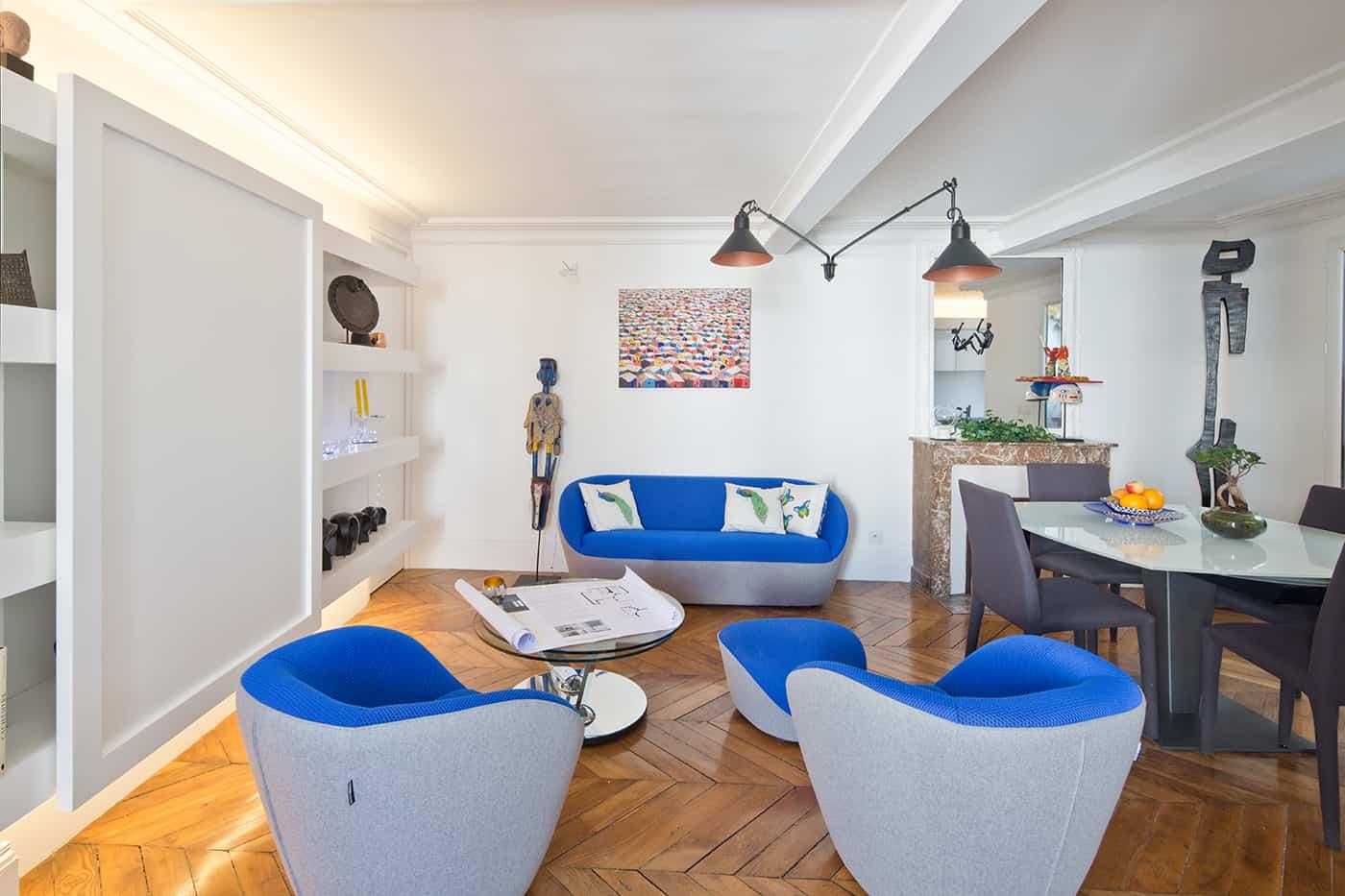 duplex darchitecte a paris © Jonathan Letoublon Architecte Antonin Ziegler via Archibien 3 - Visite d'un appartement Archibien à Paris