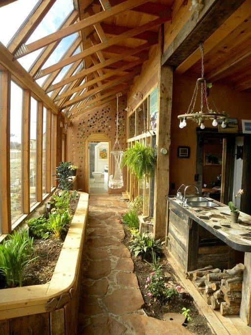 intérieur maison écologique