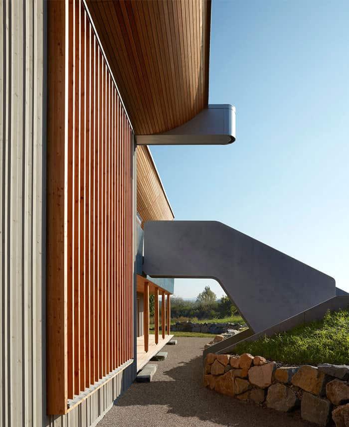 revêtement bois maison écologique