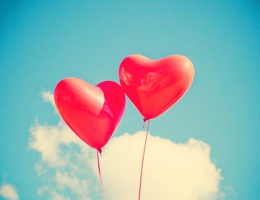 balloon saint valentin