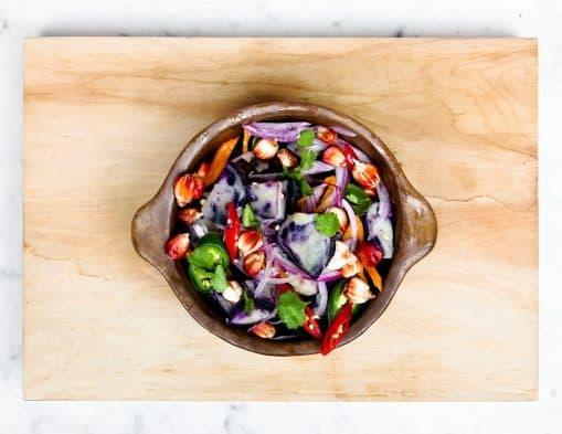 salade de legume végétariennes